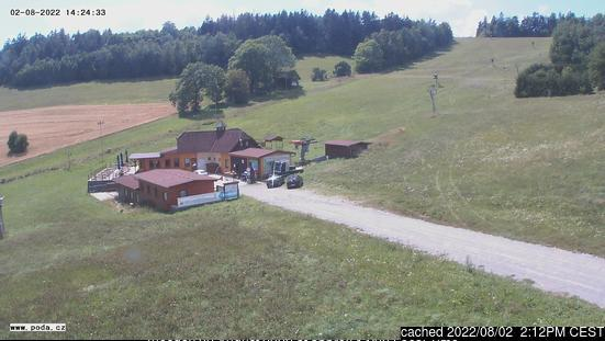 Olešnice webcam at lunchtime today