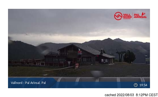 Live Snow webcam for Vallnord-Pal
