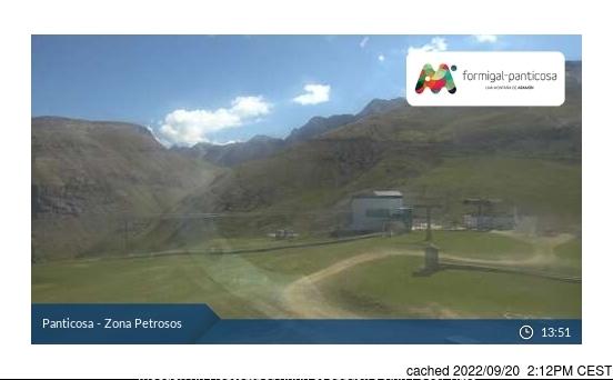 Webcam de Panticosa a las 2 de la tarde ayer