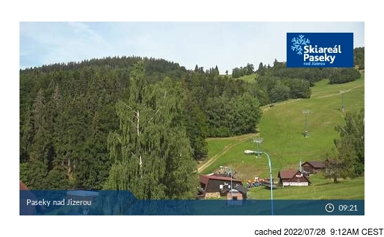 Live Snow webcam for Paseky nad Jizerou