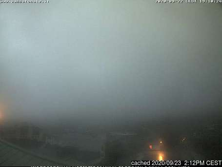 Passo Tonale webcam at 2pm yesterday