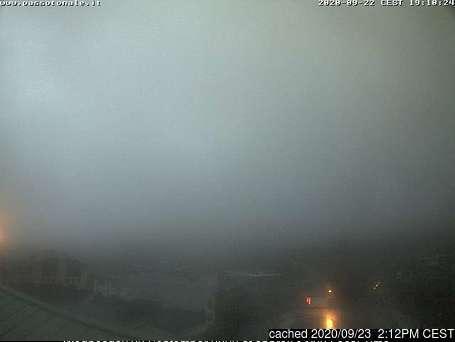 Passo Tonale webkamera ze včerejška ve 14 hod.