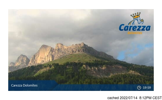 Live webcam per Carezza se disponibile