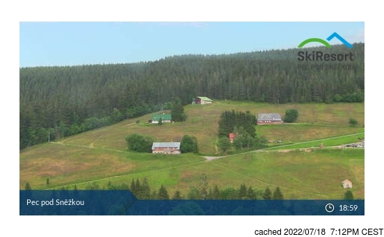 Live webcam per Pec pod Sněžkou se disponibile