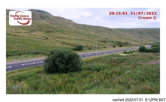 Webcam Live pour Pen-y-Fan