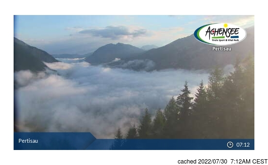 Live Sneeuw Webcam voor Pertisau am Achensee
