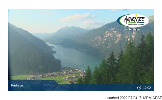 Live Webcam für Pertisau am Achensee