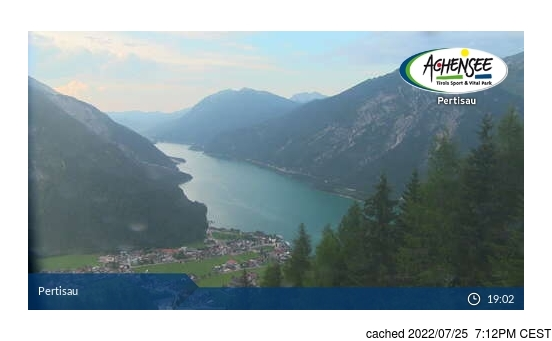Live Snow webcam for Pertisau am Achensee
