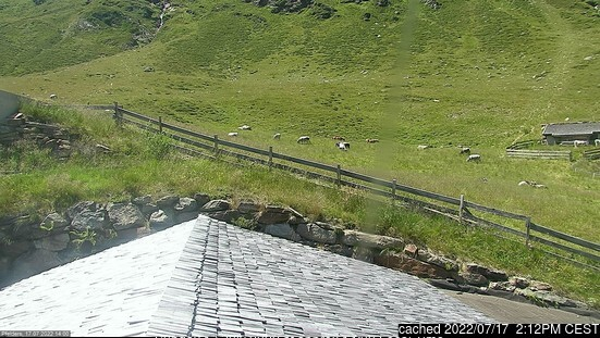 Pfelders webcam at lunchtime today