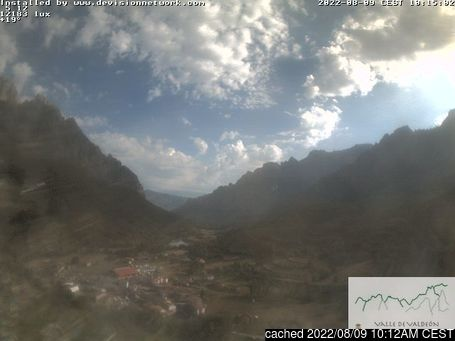 Live webcam per Picos De Europa se disponibile