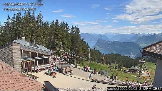 Pilatus / Luzern Webcam gestern um 14.00Uhr
