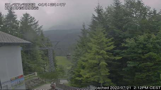 Pilatus / Luzern webcam at 2pm yesterday