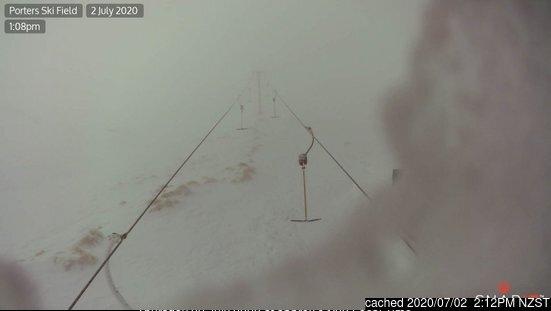 Webcam de Porters a las 2 de la tarde ayer
