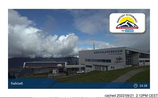 Radstadt/Altenmarkt webbkamera vid lunchtid idag