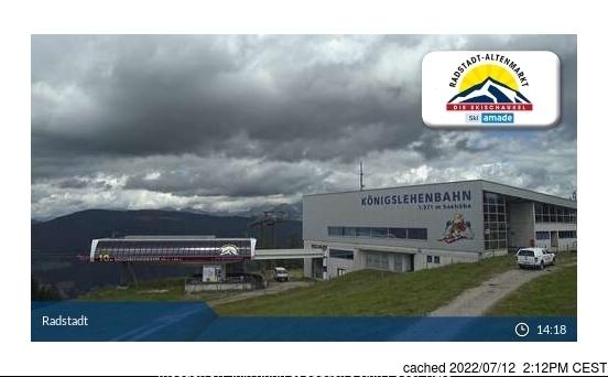 Webcam de Radstadt/Altenmarkt à 14h hier