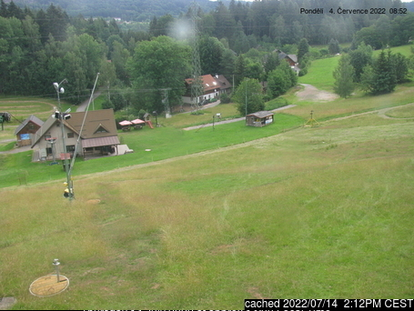 Radvanice webcam at lunchtime today