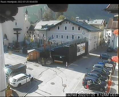 Live Webcam für Rauris