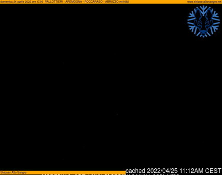 Webcam de Roccaraso à 14h hier