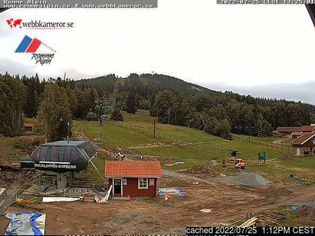 Romme Alpin webcam at lunchtime today