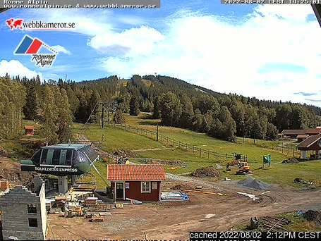 Romme Alpin webcam all'ora di pranzo di oggi