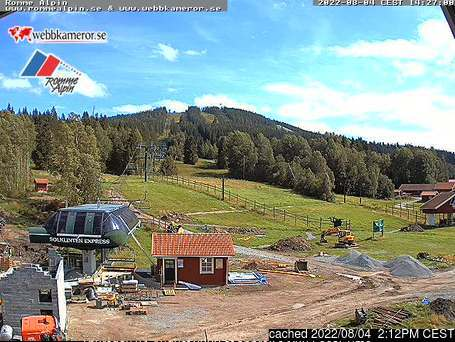 Webcam de Romme Alpin à 14h hier