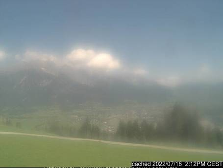 Saalfelden webcam at 2pm yesterday
