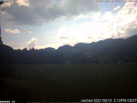 Sachrang webcam at 2pm yesterday
