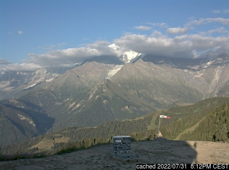 Live webcam per Saint Gervais se disponibile