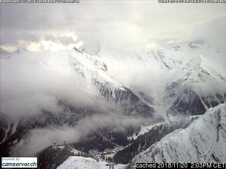 Webcam de Samnaun a las 2 de la tarde hoy