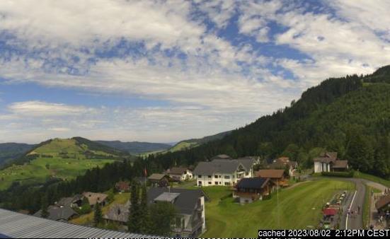 Sattel - Hochstuckli webcam at 2pm yesterday