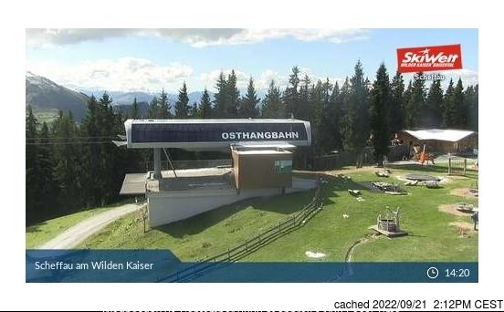 Scheffau webcam heute beim Mittagessen