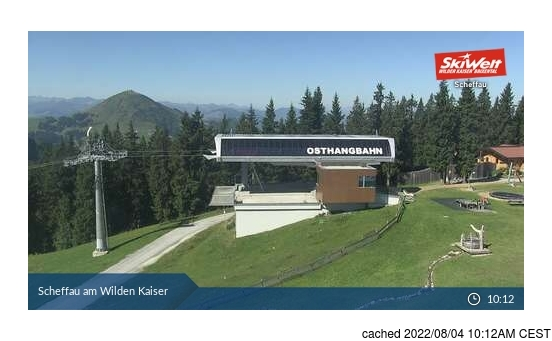 Live Snow webcam for Scheffau