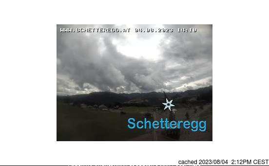 Schetteregg (Egg) webcam op lunchtijd vandaag