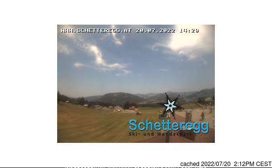 Webcam de Schetteregg (Egg) à 14h hier