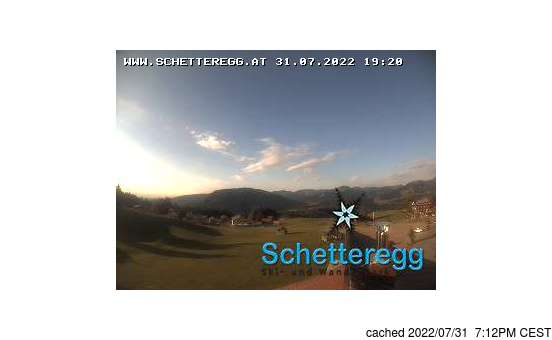 Live webcam per Schetteregg (Egg) se disponibile