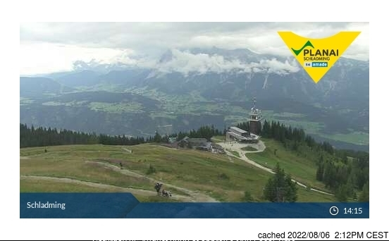Schladming webcam all'ora di pranzo di oggi