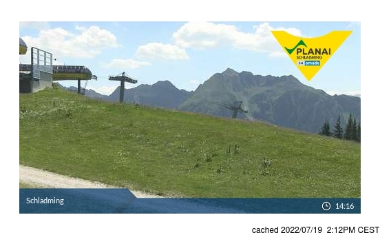 Live Snow webcam for Schladming