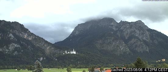 Živá webkamera pro středisko Schwangau
