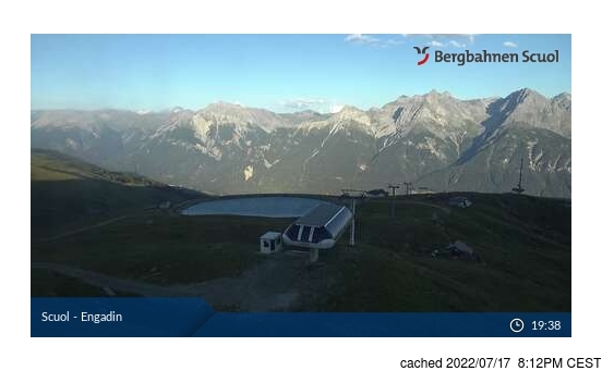 Live webcam per Scuol/Engadin se disponibile