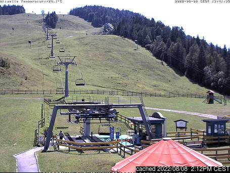 Seefeld-Reith/Gschwandtkopf webcam all'ora di pranzo di oggi