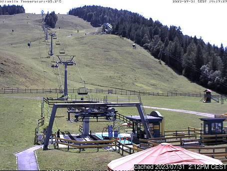 Seefeld-Reith/Gschwandtkopf webbkamera vid kl 14.00 igår