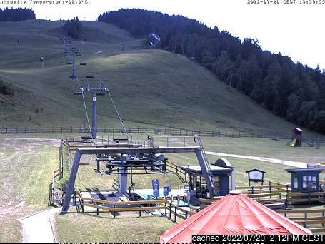 Seefeld-Reith/Gschwandtkopf webcam at 2pm yesterday
