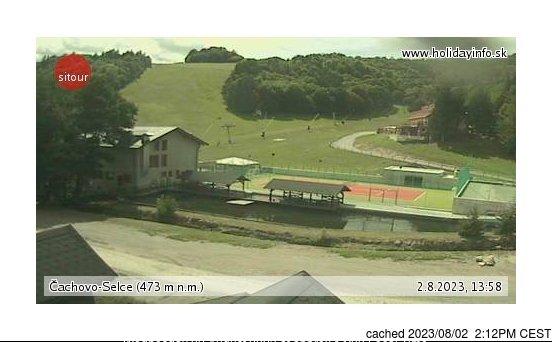 Webcam de Čachovo - Selce à midi aujourd'hui