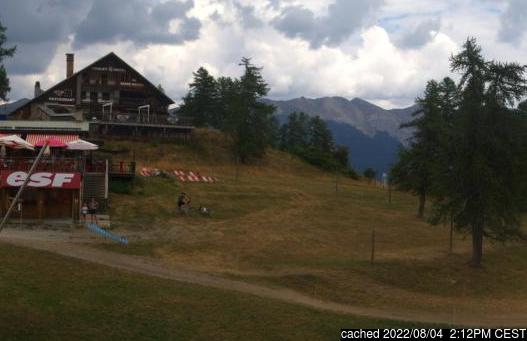 Live webcam per Serre Chevalier se disponibile