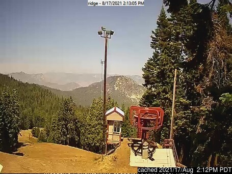 dün saat 14:00'te Alta Sierra at Shirley Meadows'deki webcam