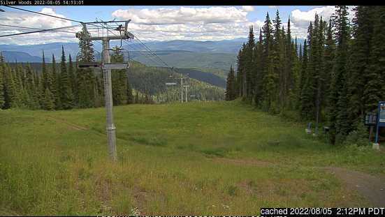 SilverStar webcam at 2pm yesterday