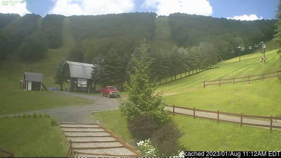 Ski Plattekill webkamera v době oběda