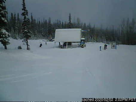 本日ランチタイムのHudson Bay Mountainのウェブカメラ