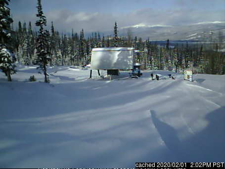 Hudson Bay Mountain webcam at 2pm yesterday