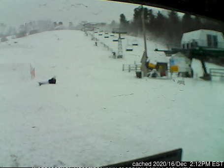 Ski Ward Ski Area webcam at lunchtime today